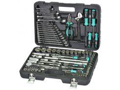 Набор инструмента Whirlpower 101 ед: ключи, отвертки, шарн.-губц.инструмент