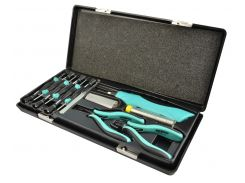Набор инструментов для точной механики Whirlpower 11 ед. в пластиковом кейсе