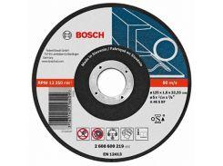 Круг отрезной по металлу Bosch 125х22,2 мм