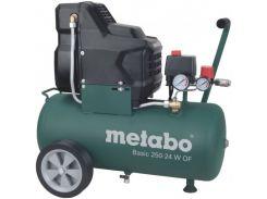Компрессор Metabo Basic 250-24 W OF безмасляный одноцилиндровый