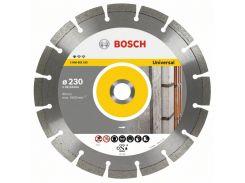 Диск алмазный Bosch универсальный (125х22.2 мм) серии UPE