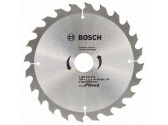 Диск пильный Bosch ЕСО for Wood 190х30мм Z24, дерево