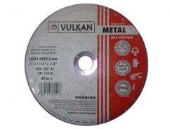 Круг отрезной Vulkan 180*6*22 сталь