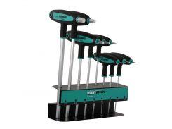 Набор ключей-шестигранников HEX Whirlpower 151-0708, 8 ед.