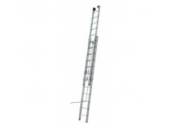 Лестница ELKOP VHR L 2x16 алюминиевая, на канатной тяге