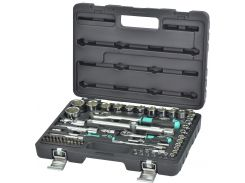 Набор головок Whirlpower 1/4-1/2 62 ед.10-32 мм