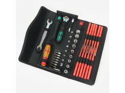 Набор инструментов Wera Kraftform Kompakt W1 35 ед