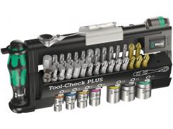 Набор бит и головок Wera Tool-Check PLUS 39 ед.