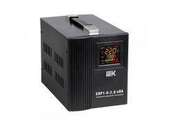 Стабилизатор напряжения ІЕК IVS20-1-02000, 2 кВА, напольный