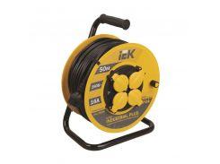 Удлинитель IEK WKP15-16-04-40 4 гнезда/40 метров на барабане