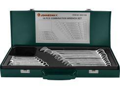 Набор комбинированных ключей Jonnesway 6-24 мм, 16 шт в кейсе