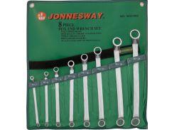 Набор накидных ключей Jonnesway 6-22 мм, 8 шт в чехле