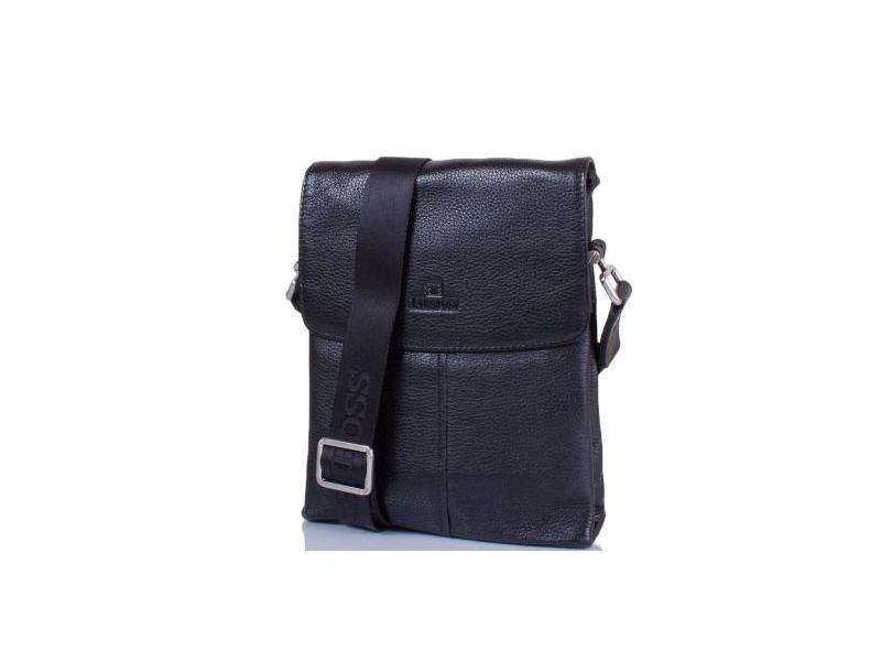 b5a75b654061 Мужская кожаная сумка-барсетка lare boss (ЛАРЕ БОСС ) tu5873-5-black ...