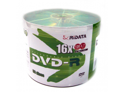 диск ridata dvd-r 4,7 Гб 16x bulk 50 штук (907oedrraf002 / 907wedrrda002)