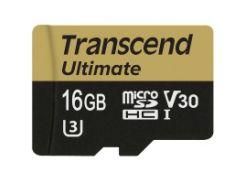 высокоскоростная карта памяти transcend microsdhc 16 Гб uhs-i u3 mlc (ts16gusdu3m)