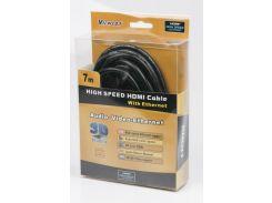 кабель hdmi-hdmi viewcon vc-hdmi-160-7m 7 метров v1.4 блистер