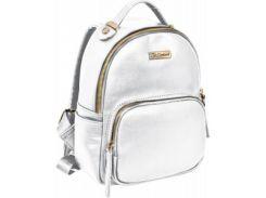 молодежная сумка рюкзак 1 Вересня smart белая (553041)