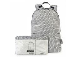 рюкзак раскладной tucano bpcobk-mendini-w compatto backpack mendini white