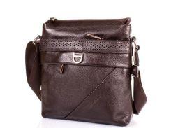Мужская кожаная сумка-планшет tofionno (ТОФИОННО) tu619-98-brown
