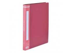 Папка пластиковая a4 с боковым прижимом, красный bm.3402-05