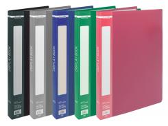 Папка пластиковая c 20 файлами А4 bm.3606-99