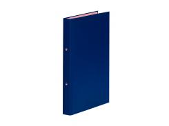 Папка на 2-х кольцах, А4, ширина торца 35 мм, синий 3732001-10