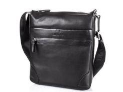 Мужская кожаная сумка-планшет lareboss(ЛАРЕБОСС) tu139-2-black