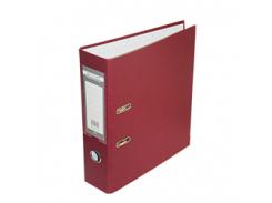 Регистратор односторонний А4 jobmax, ширина торца 70мм, бордовый bm.3011-13c