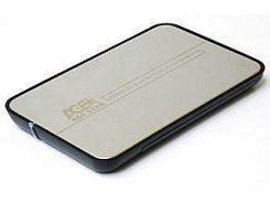 """Внешний карман 2.5"""", usb2.0, серебристый"""