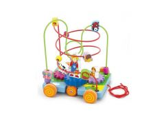 деревянный развивающий Лабиринт viga toys Машинка (50120)