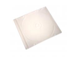 бокс для 1-cd диска slim прозрачный (1cd-slim-clear)