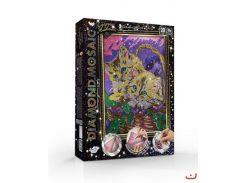 """Набір креативної творчості """"Алмазная живопись diamond mosaic"""" великий (10), dm-01-10"""