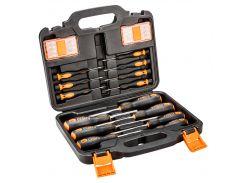 набор инструментов отверток и насадок neo 04-209 30 штук