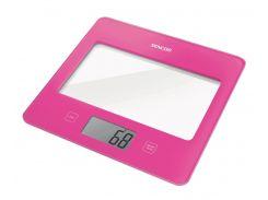 стеклянные кухонные весы sencor sks5028rs до 5 кг