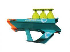 Бластер 3в1, стреляет шариками, снежками, вод.бомбами, в кор.45,5*13,5*30,5см (12шт/ящ)