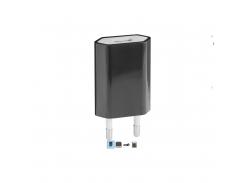 сетевое зарядное устройство defender usb upС-01 с кабелем 5v 1a adapter (83532)