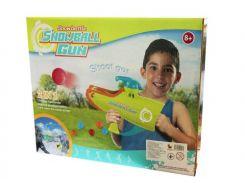 игрушечный Бластер 338 2в1 стреляет шариками и снежками