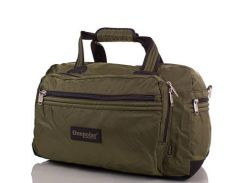 спортивно-дорожная сумка onepolar wb807-green зеленая на 45 литров
