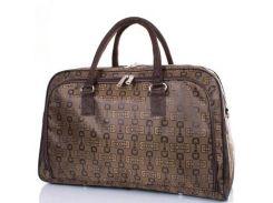 дорожная сумка с ручками eterno tu09-10 коричневая на 28 литров