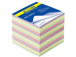 Блок бумаги ДЕКОР 90х90х70мм, не склеенный bm.2289