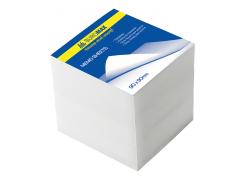 Блок белой бумаги 90х90х90мм, не склеенный bm.2219