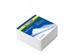 Блок белой бумаги 80х80х50мм, не склеенный bm.2205