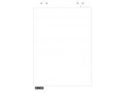 Блок бумаги для флипчартов buromax bm.2296 на 20 листов 64х90 см