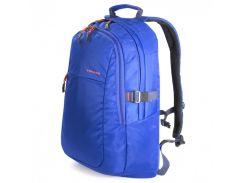 городской рюкзак tucano bklivu-b livello up 15.6 blue с двумя карманами
