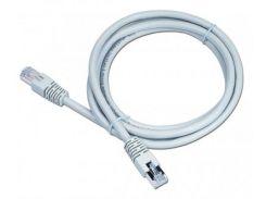 """телекоммуникационный литой патч корд cablexpert pp6-lszhcu-0.25m ftp 50u """"штекер с защелкой 25 см серый"""