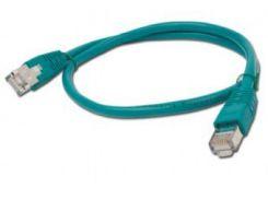 литой патч корд cablexpert pp6-1m/g зеленый utp cat 6 50u штекер с защелкой 1 метр