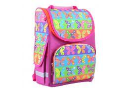 школьный каркасный рюкзак 1 Вересня smart pg-11 butterfly для девочки (555214)