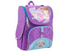школьный каркасный рюкзак 1 Вересня h-11 sofia purple для девочки (553269)