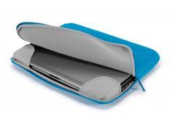 защитный чехол tucano colore bfc1516-b для ноутбука 15-16' голубой
