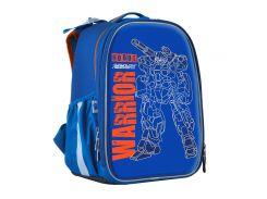 набор школьный каркасный рюкзак 1 Вересня h-25 robot (555788) с пеналом